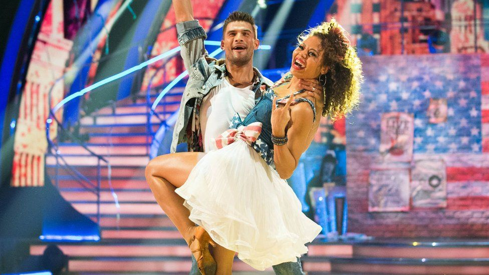 Strictly's Lady Weymouth and dance partner Aljaz Skorjanec