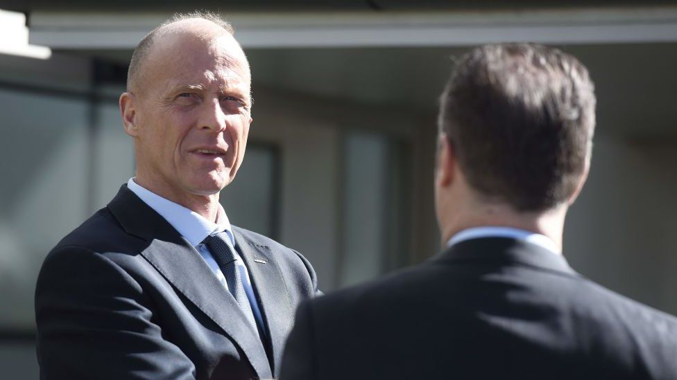 Airbus chief excecutive officer Tom Enders
