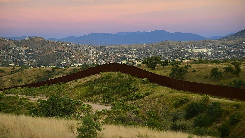 Portions of a barrier have already been built on the US-Mexico border