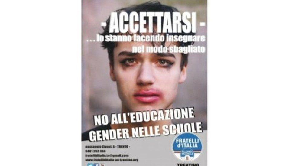 Fratelli d'Italia leaflet