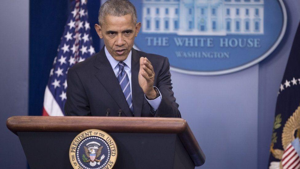 """أوباما يتهم الأسد وروسيا وإيران بارتكاب """"فظائع"""" في حلب"""