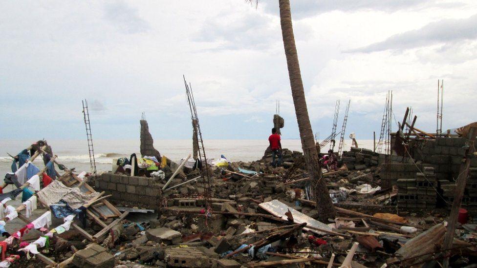 Destruction in Jeremie, 7 October