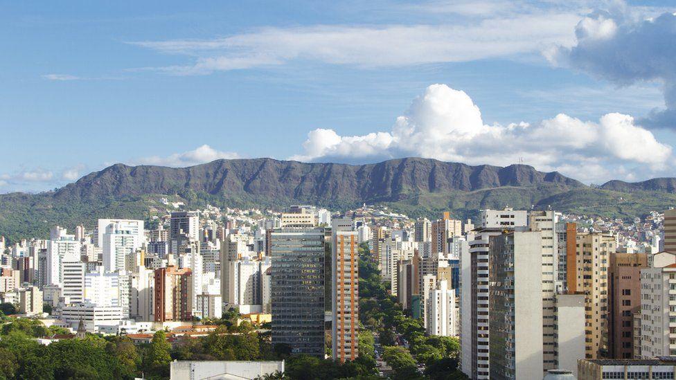 Belo Horizonte in the Brazilian state of Minas Gerais