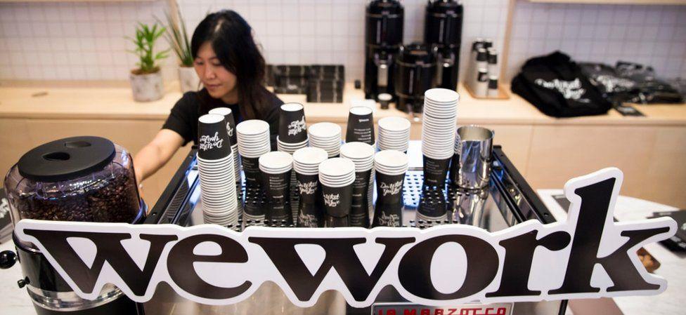 WeWork in Tokyo, Japan
