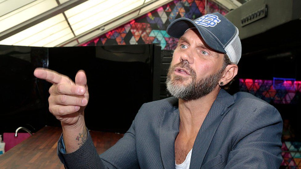 Adult film actor Nacho Vidal attends the Erotic Fair Barcelona in 2015