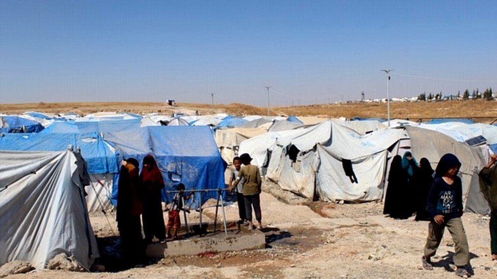 Aid camp