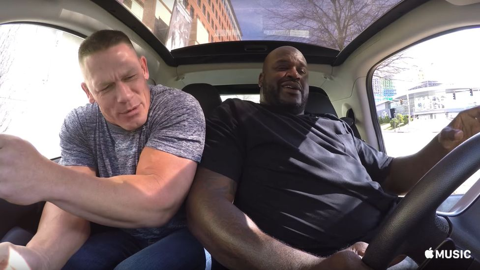 John Cena and Shaquille O'Neal