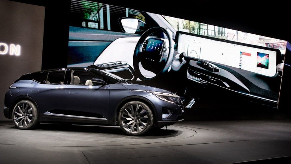 Byton's M-Byte electric car