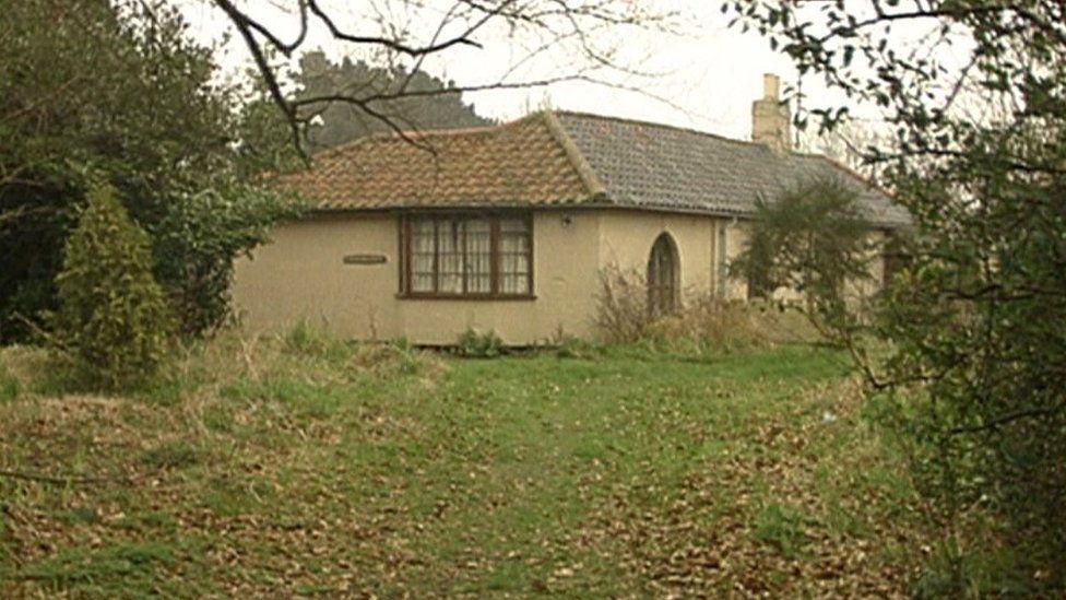 Mrs Shelley's bungalow