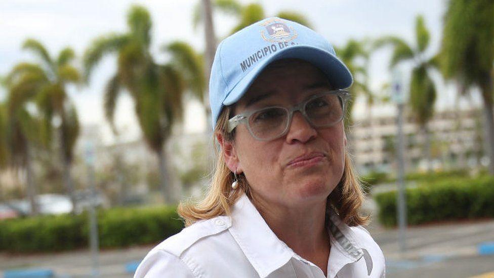 San Juan Mayor Carmen Yulin Cruz