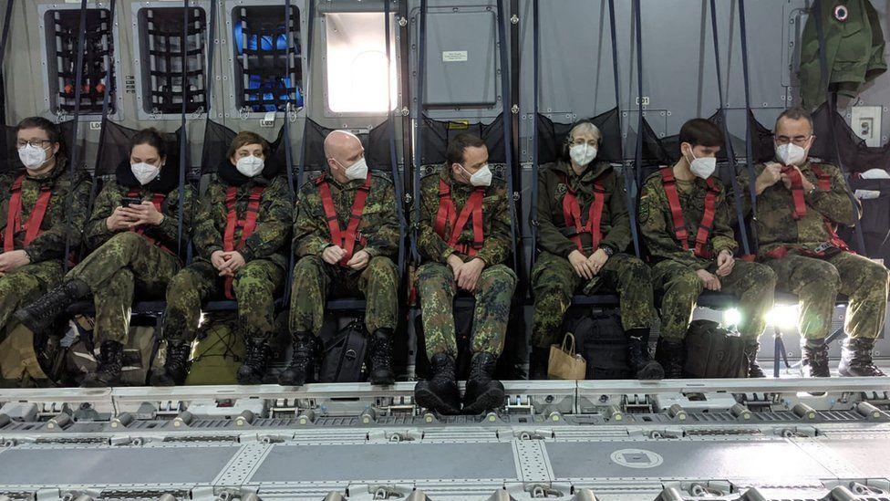 The German medics will spend three weeks helping their Portuguese colleagues (Pic courtesy of Sanitätsdienst der Bundeswehr)