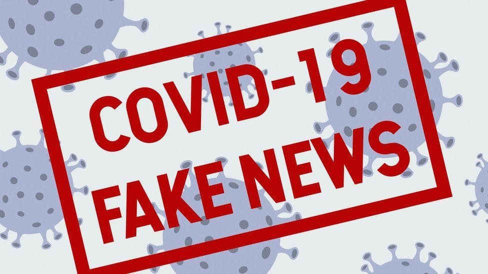 Coronavirus: Call for apps to get fake Covid-19 news button - BBC News