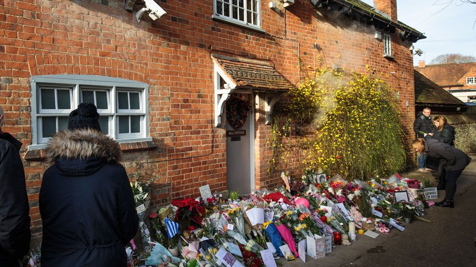 George Michael's home in Goring