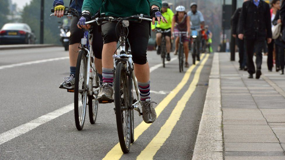 commuter cyclists