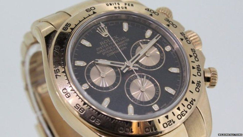 Drug dealer's Rolexes and trainers raise £33,000 at auction