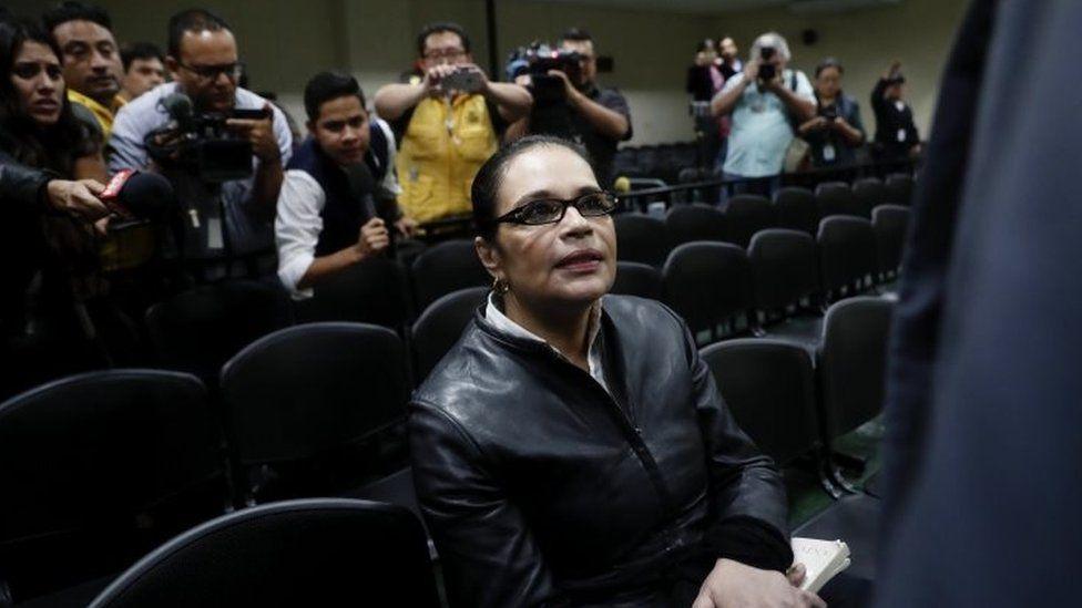 Guatemala ex-VP Roxana Baldetti jailed in 'Magic Water' scandal