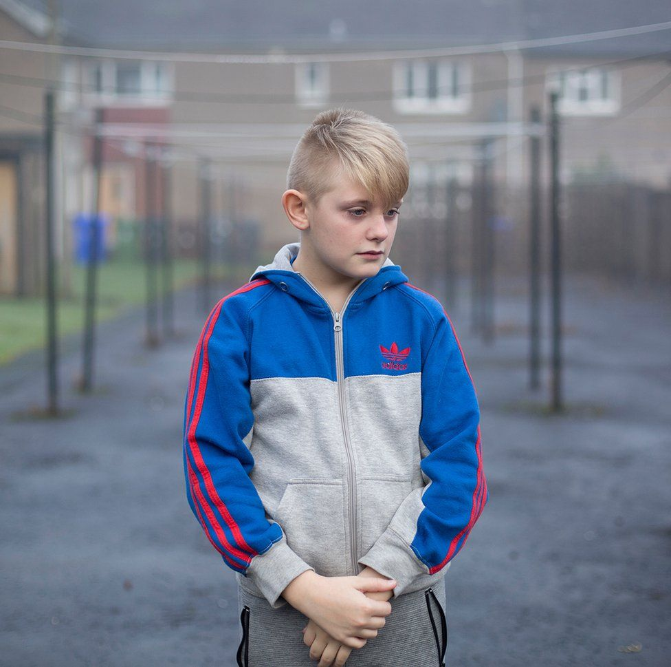 A portrait of Liam