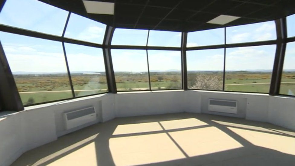 Greenham Control Tower viewing gallery