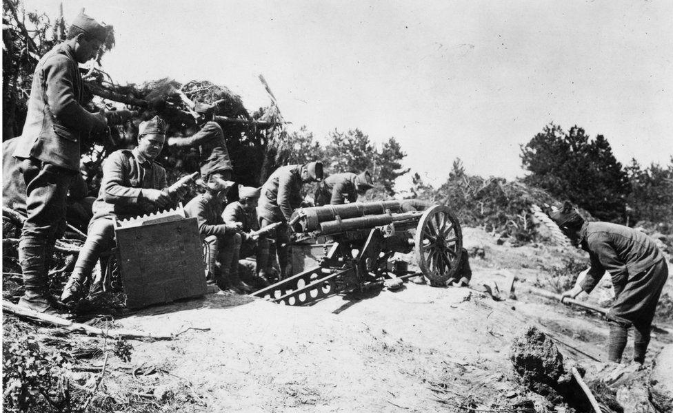 Anadolu'daki Yunan askerleri