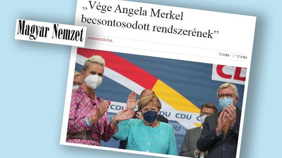 Article in Hungary's Magyar Nemzet