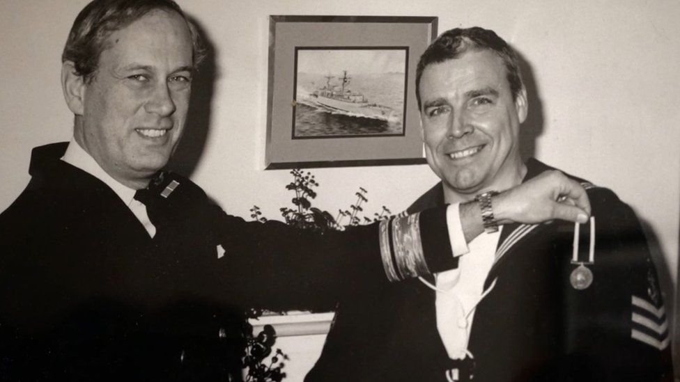 Joe Ousalice (right)