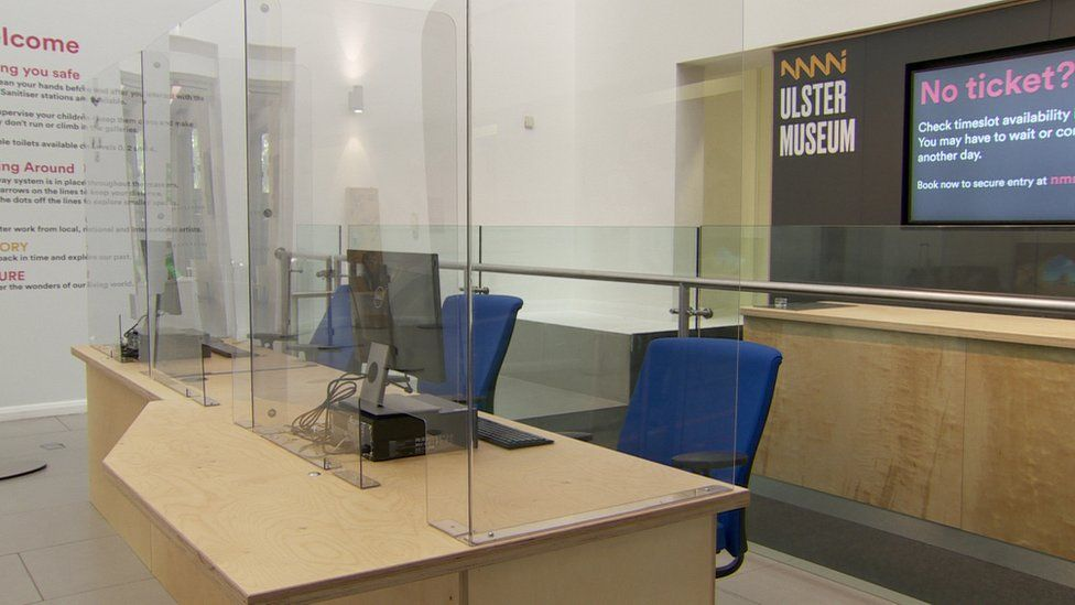 reception at Ulster Museum