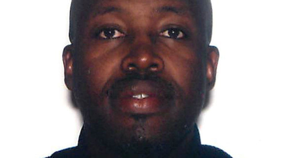 Jean Leonard Teganya is seen in this undated photo provided by the US Attorney's Office for the District of Massachusetts.