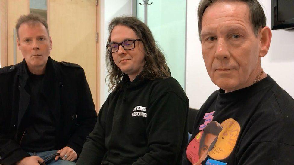 Dave Harley , Denholm Ellis and John Tayler