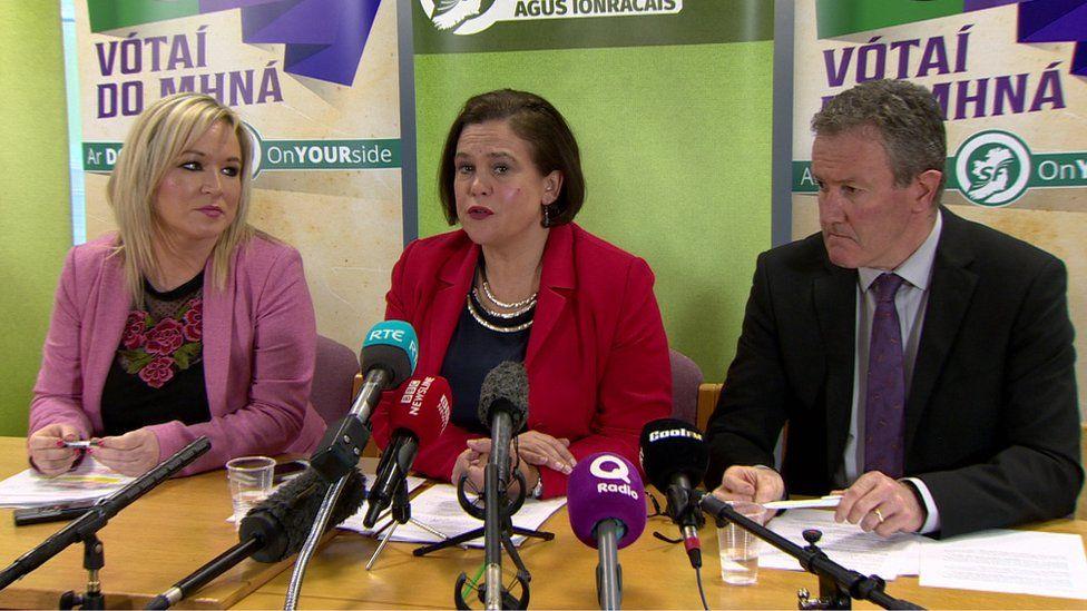 Sinn Féin press conference