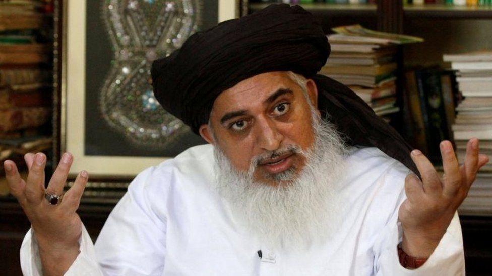 Pakistani cleric Khadim Hussain Rizvi. File photo