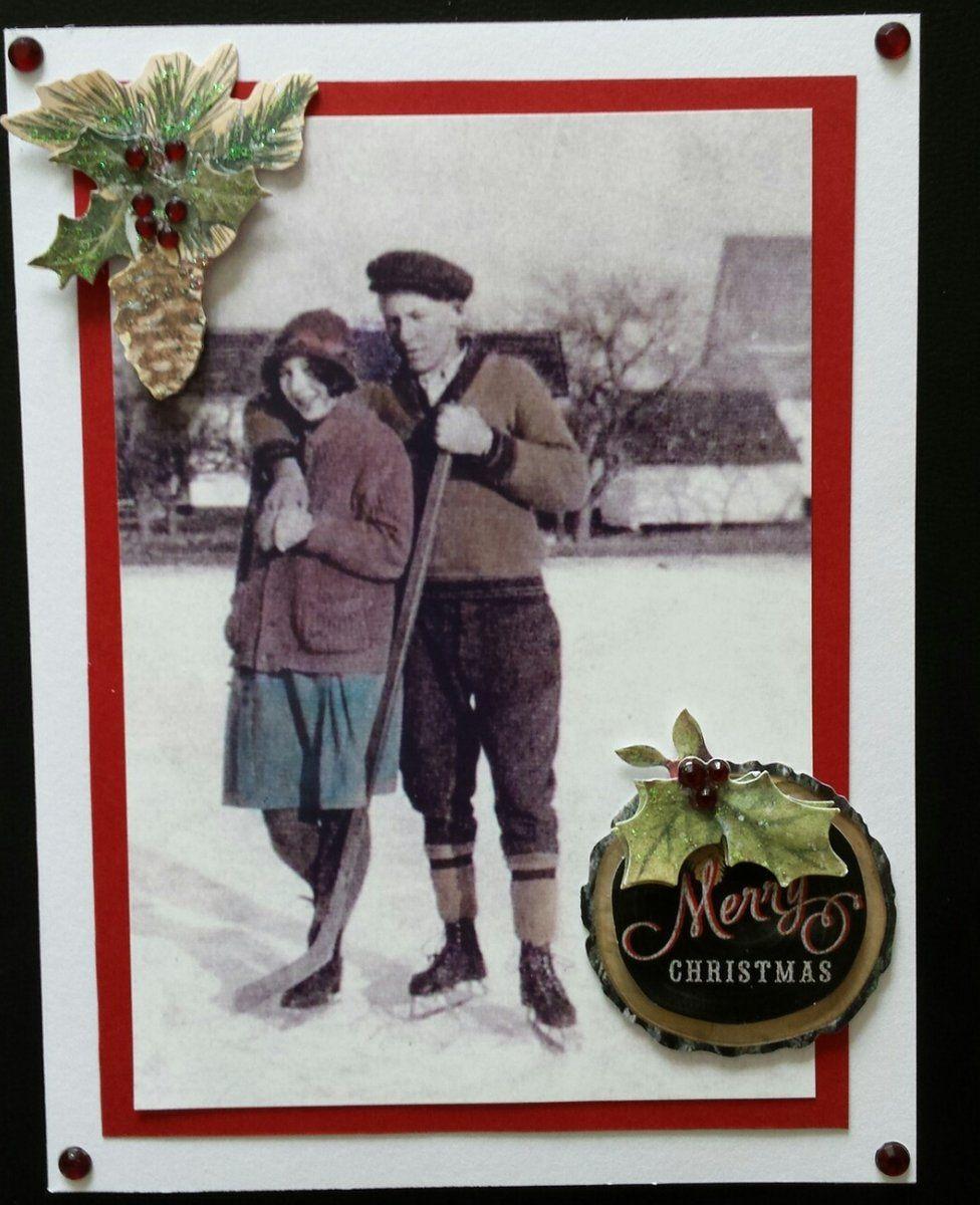 Donna Vlahos Christmas card