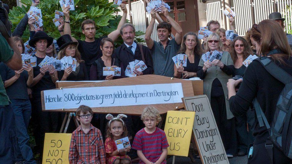 Save Dartington campaigners