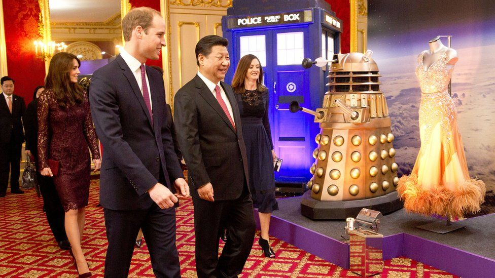 President Xi Jinping with Prince William