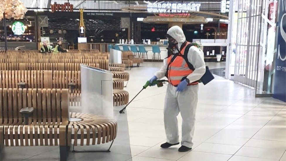 SafeGroup recently decontaminated Stansted Airport