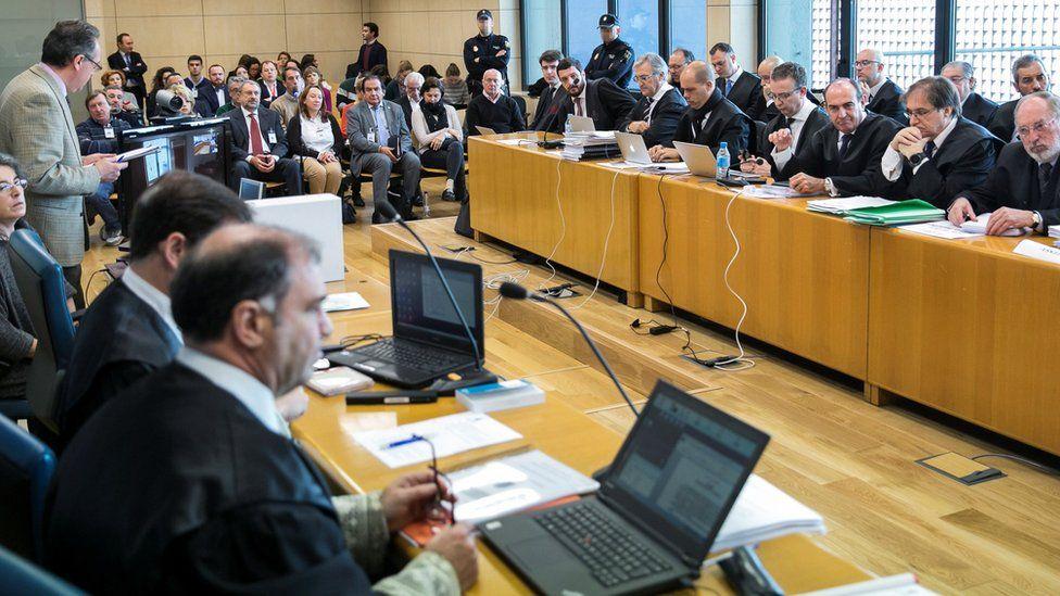 Opening of Russian mafia trial, 19 Feb 18