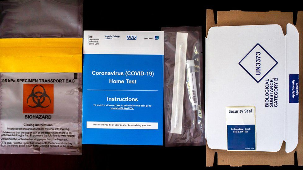 Home testing kit for Covid-19