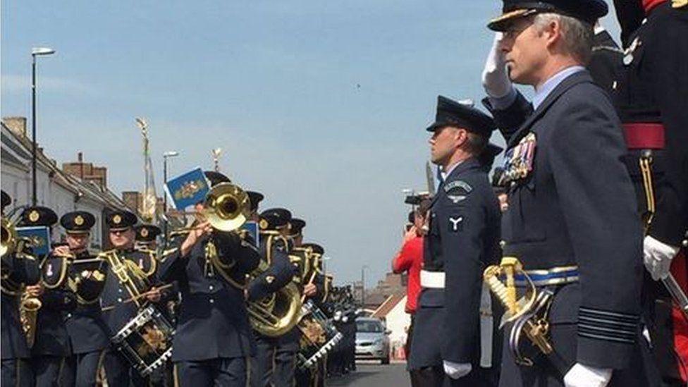 RAF Leeming Freedom parade