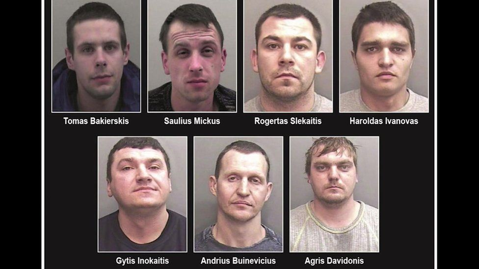 The men jailed over the jewellery raid in Truro
