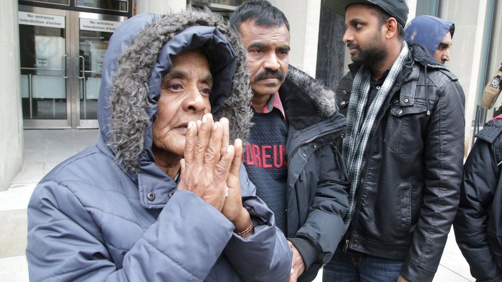 The mother of one of Bruce McArthur's victim, Kirushna Kanagaratnam