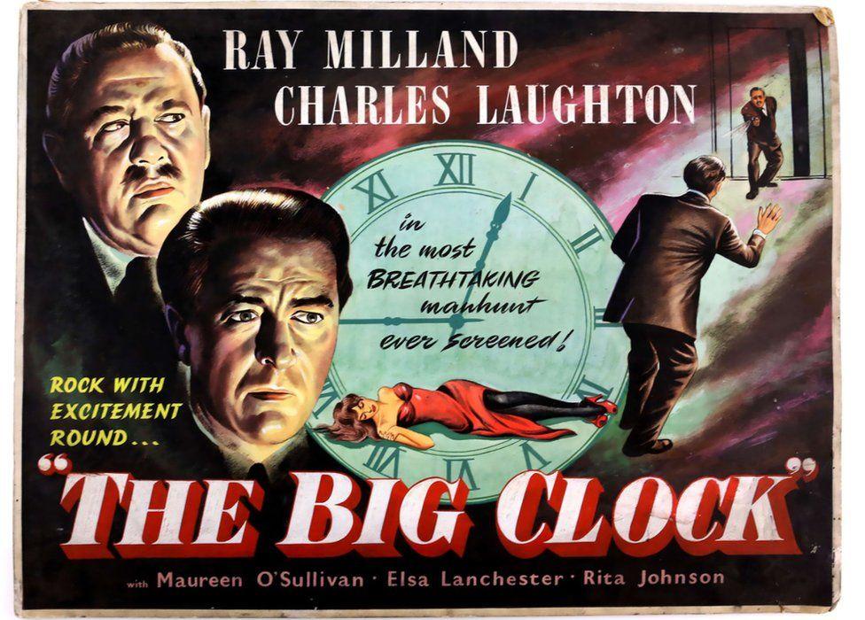The Big Clock film poster