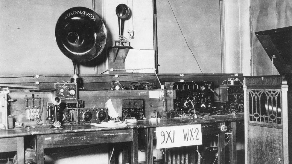 9XI WX-2 Radio, Minneapolis in 1920