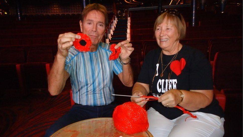 Sir Cliff Richard & Margaret Aiken
