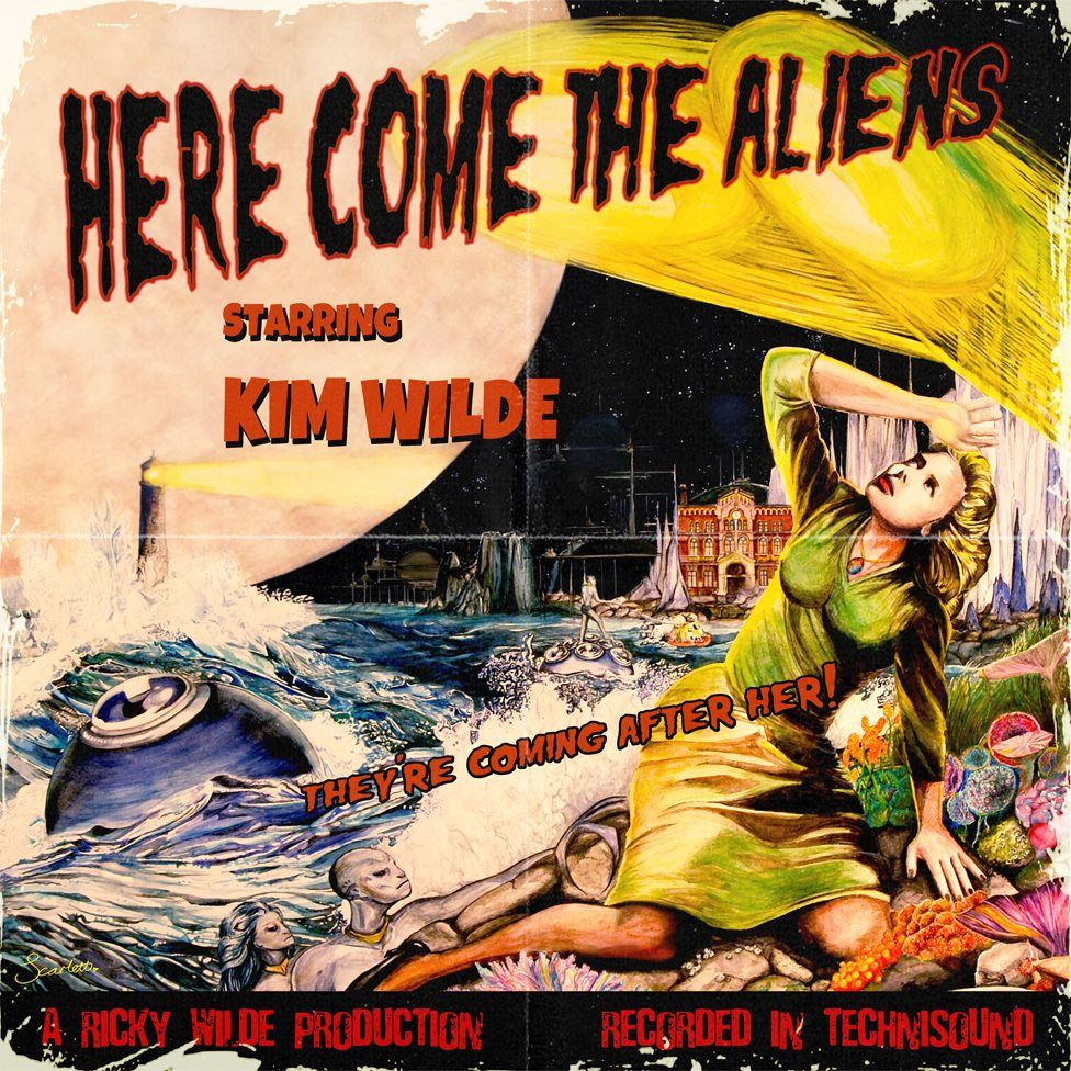 Artwork for Here Come The ALiens