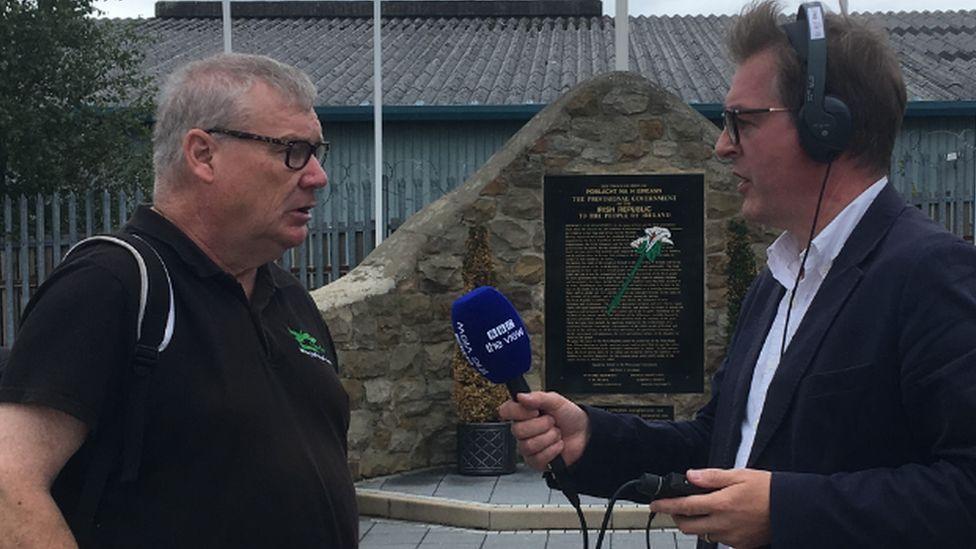 Mark interviews Peadar Whelan