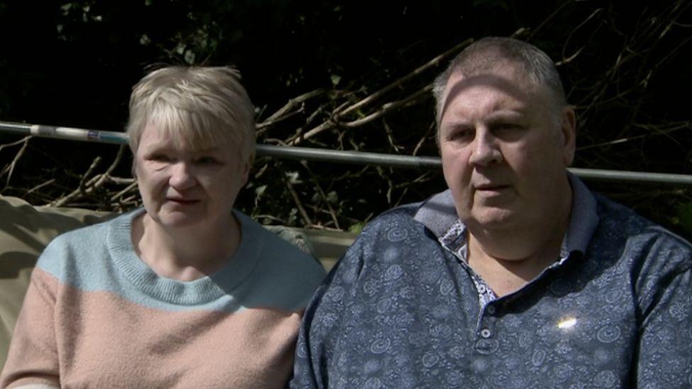 Sheila and Peter Kirkup