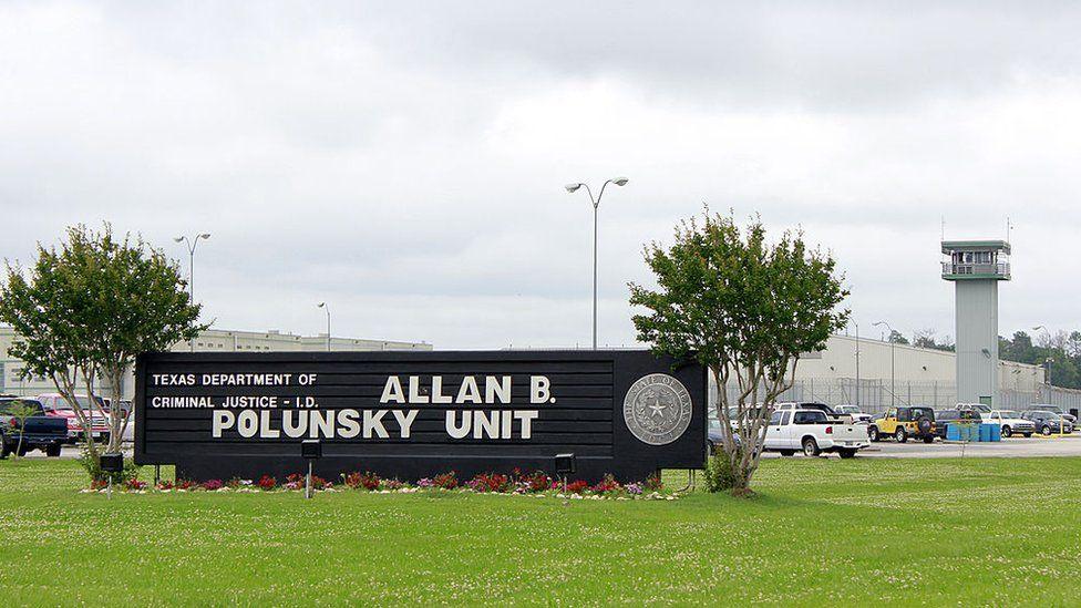 Allan B Polunsky Unit of the prison where Paul Storey is held