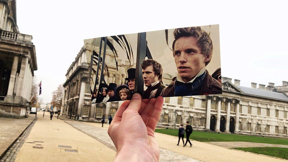 Les Miserables movie scene recreated at Old Naval Royal College