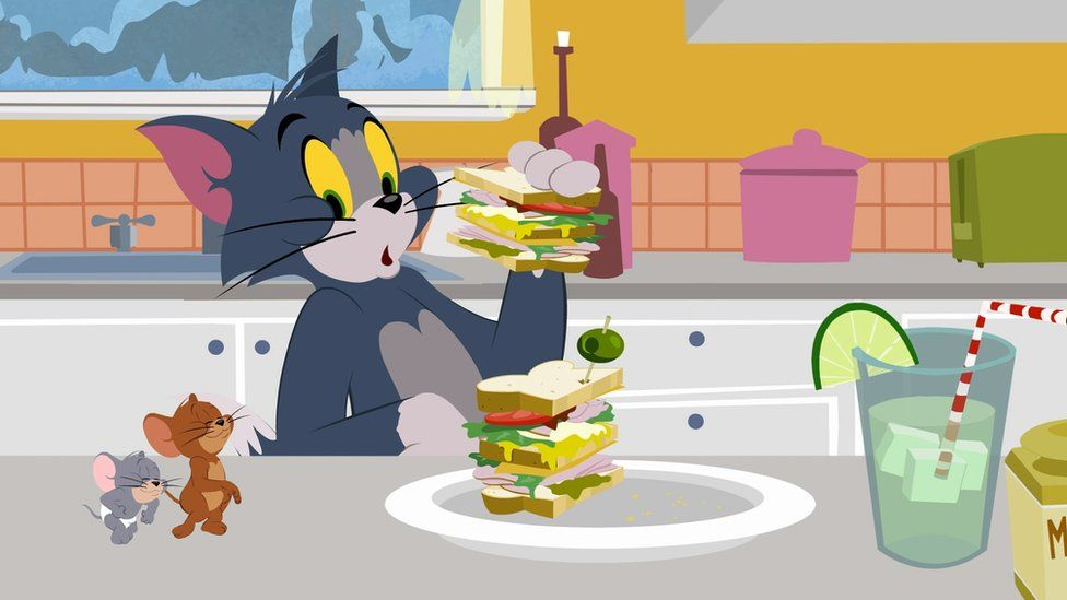 Still from WB Kids show for Tom and Jerry