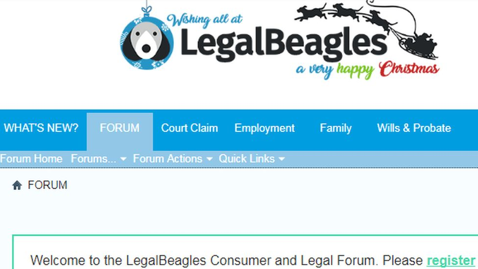 Legal Beagles screenshot