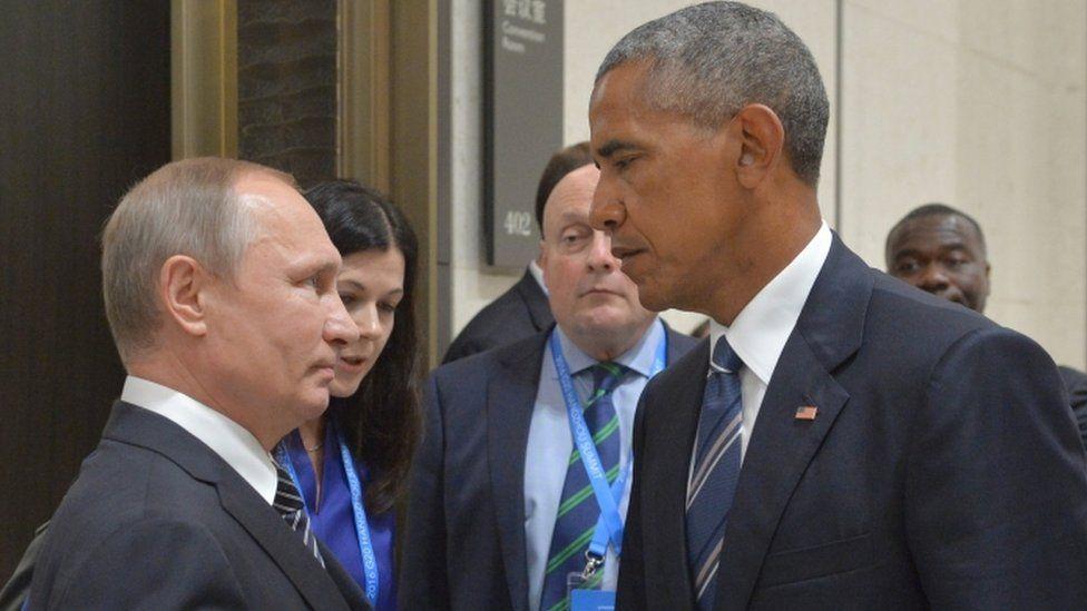"""أوباما: حذرت بوتين بسبب """"القرصنة"""" خلال الانتخابات الرئاسية"""